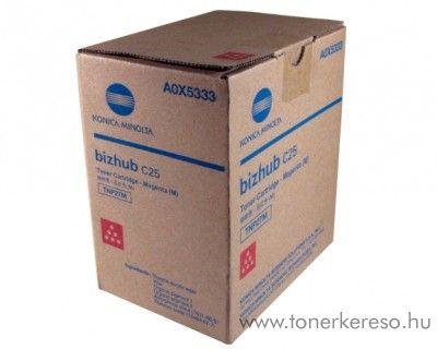 Konica Minolta BizHub C25 (TNP27M) eredeti magenta toner A0X5353 Konica Minolta BizHub C25 fénymásolóhoz