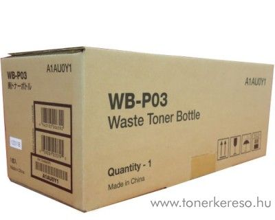 Konica Minolta BizHub C25/C35 (WBP03)eredeti waste toner A1AU0Y1 Konica Minolta Magicolor 3730N lézernyomtatóhoz