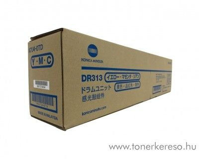 Konica Minolta BizHub C308 (DR313CMY) eredeti CMY drum A7U40TD Minolta Bizhub C258 fénymásolóhoz