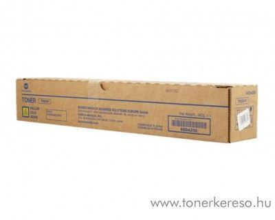 Konica Minolta BizHub C308 (TN324Y) eredeti yellow toner A8DA250 Minolta Bizhub C258 fénymásolóhoz