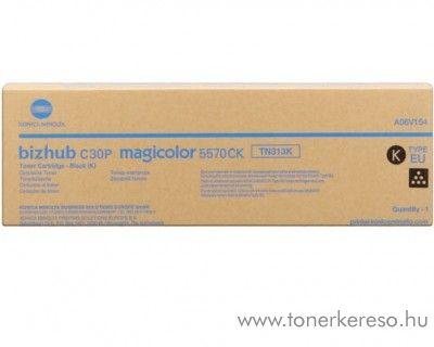 Konica Minolta BizHub C30 (TN313K) eredeti black toner A06V154