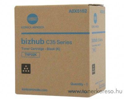 Konica Minolta BizHub C35 (TNP22K) eredeti black toner A0X5152 Konica Minolta BizHub C35 fénymásolóhoz