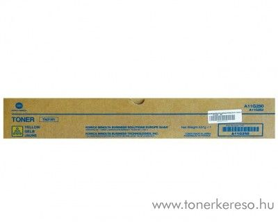Konica Minolta BizHub C360 (TN319Y) eredeti yellow toner A11G250