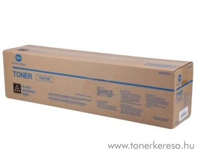 Konica Minolta BizHub C451 (TN411K) eredeti black toner A070151 Konica Minolta Bizhub C451 fénymásolóhoz