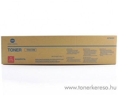 Konica Minolta BizHub C452 (TN613M)eredeti magenta toner A0TM350 Konica Minolta BizHub C552 fénymásolóhoz