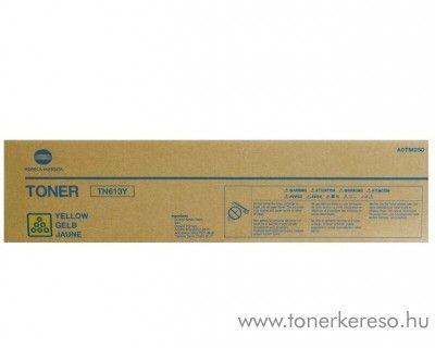 Konica Minolta BizHub C452 (TN613Y) eredeti yellow toner A0TM250 Konica Minolta BizHub C652 fénymásolóhoz