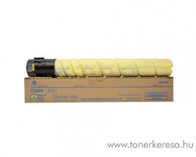 Konica Minolta BizHub C454 (TN512Y) eredeti yellow toner A33K252 Konica Minolta BizHub C554 fénymásolóhoz