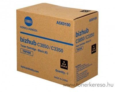 Konica Minolta Bizhub C 3350/3850 eredeti black toner A5X0150 Konica Minolta Bizhub C3350 fénymásolóhoz