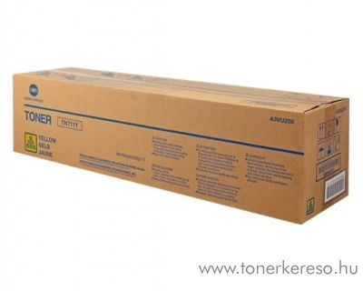 Konica Minolta Bizhub C 654/754 eredeti yellow toner A3VU250 Konica Minolta Bizhub Pro C754e fénymásolóhoz