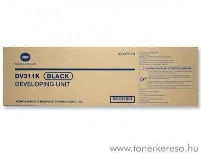Konica Minolta C220 (DV311K) eredeti black developer unit A0XV03 Konica Minolta BizHub C280 fénymásolóhoz