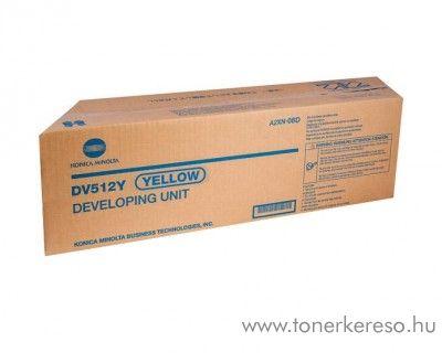 Konica Minolta C224 (DV512Y) eredeti yellow developer A2XN08D Konica Minolta BizHub C284 fénymásolóhoz