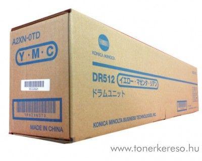 Konica Minolta C224/364 (DR512) eredeti CMY drum unit A2XN0TD Konica Minolta BizHub C284 fénymásolóhoz