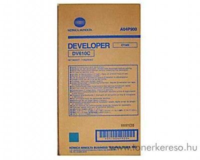 Konica Minolta C6501 (DV610C) eredeti cyan developer A04P900 Konica Minolta Bizhub Pro C5500 fénymásolóhoz