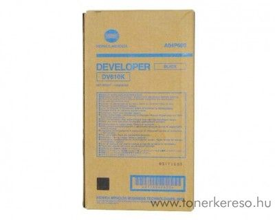 Konica Minolta C6501 (DV610K) eredeti black developer A04P600 Konica Minolta Bizhub Pro C6500 fénymásolóhoz