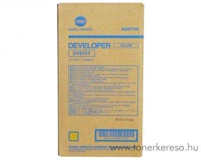 Konica Minolta C6501 (DV610Y) eredeti yellow developer A04P700 Konica Minolta Bizhub Pro C5501 fénymásolóhoz