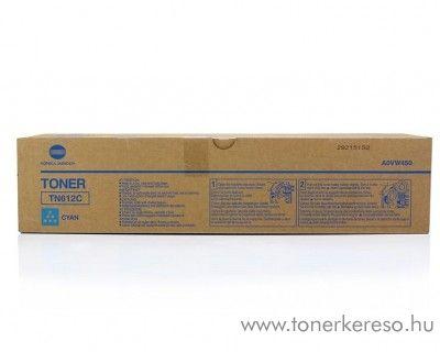 Konica Minolta C6501 (TN612C) eredeti cyan toner A0VW450