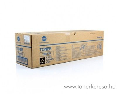 Konica Minolta C6501 (TN612K) eredeti black toner A0VW150