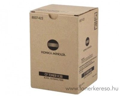 Konica Minolta CF1501 (K3B) eredeti black toner 8937423