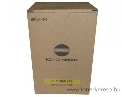 Konica Minolta CF1501 (Y3B) eredeti yellow toner 8937424