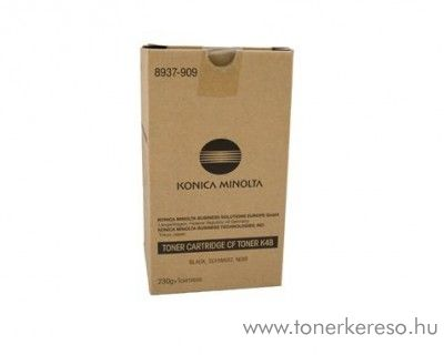 Konica Minolta CF2002 (K4B) eredeti black toner 8937909 Konica Minolta CF3102 fénymásolóhoz