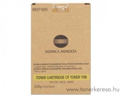 Konica Minolta CF2002 (Y4B) eredeti yellow toner 8937920 Konica Minolta CF3102E fénymásolóhoz