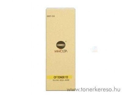 Konica Minolta CF9001 (Y2) eredeti yellow toner 8937124