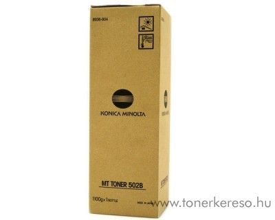 Konica Minolta DI450 (502B) eredeti black toner 8936904 Konica Minolta Di470  fénymásolóhoz
