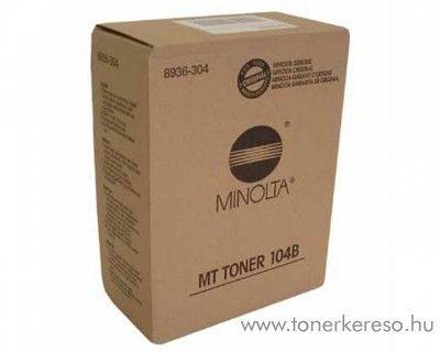 Konica Minolta EP1054/1085 (104B) eredeti black toner 8936304