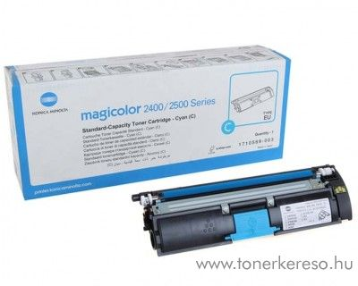 Konica Minolta MagiColor 2400 eredeti cyan toner A00W331 Minolta MagiColor 2500w lézernyomtatóhoz