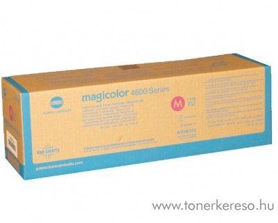 Konica Minolta MagiColor 4600 eredeti magenta high toner A0DK352 Konica Minolta Magicolor 4650DN lézernyomtatóhoz