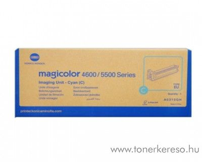 Konica Minolta MColor 4650 eredeti cyan imaging unit A0310GH Konica Minolta Magicolor 4650EN lézernyomtatóhoz
