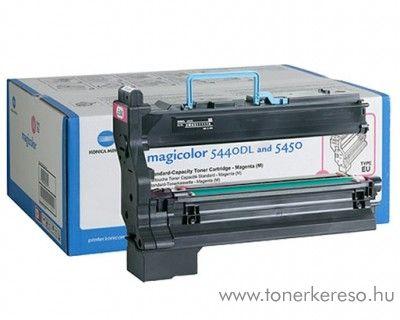Konica Minolta MagiColor 5440 eredeti magenta high toner 4539233