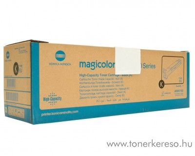 Konica Minolta MagiColor 5550 eredeti black high toner A06V153 Konica Minolta Magicolor 5670DTH lézernyomtatóhoz