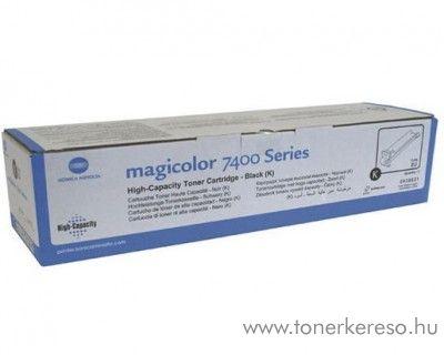 Konica Minolta MagiColor 7450/7400 eredeti black toner 8938621 Konica Minolta Magicolor 7450  lézernyomtatóhoz