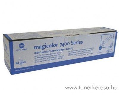 Konica Minolta MagiColor 7450/7400 eredeti cyan toner 8938624 Konica Minolta Magicolor 7450  lézernyomtatóhoz