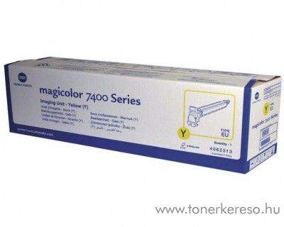 Konica Minolta MagiColor 7450/7400 eredeti yellow Drum 4062313 Konica Minolta Magicolor 7450 GA lézernyomtatóhoz