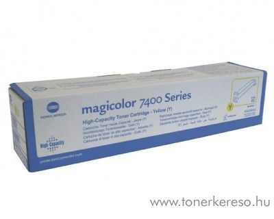 Konica Minolta MagiColor 7450/7400 eredeti yellow toner 8938622 Konica Minolta Magicolor 7400 lézernyomtatóhoz