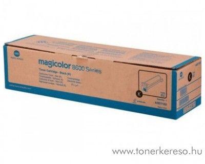 Konica Minolta MagiColor 8650 eredeti black toner A0D7153 Konica Minolta magicolor 8650DN lézernyomtatóhoz