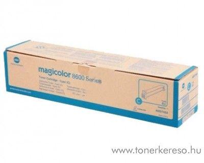 Konica Minolta MagiColor 8650 eredeti cyan toner A0D7453 Konica Minolta magicolor 8650HDN lézernyomtatóhoz