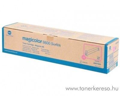 Konica Minolta MagiColor 8650 eredeti magenta toner A0D7353