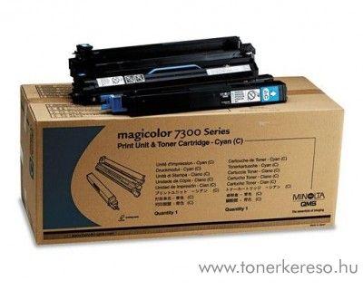 Konica Minolta MC 7300 eredeti cyan toner + print unit 4333713 Konica Minolta Magicolor 7300 lézernyomtatóhoz