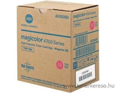 Konica Minolta MColor4750 (TNP18M) eredeti magenta toner A0X5350 Konica Minolta MagiColor 4750DN lézernyomtatóhoz