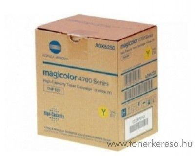 Konica Minolta MColor4750 (TNP18Y) eredeti yellow toner AX05250 Konica Minolta MagiColor 4750DN lézernyomtatóhoz
