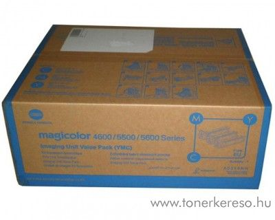 Konica Minolta MColor 4650 eredeti CMY imaging unit pack A0310NH Konica Minolta Magicolor 5550D lézernyomtatóhoz