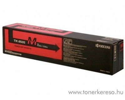 Kyocera 4550CI (TK-8505M) eredeti magenta toner 1T02LCBNL0