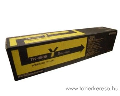 Kyocera 4550CI (TK-8505Y) eredeti yellow toner 1T02LCANL0