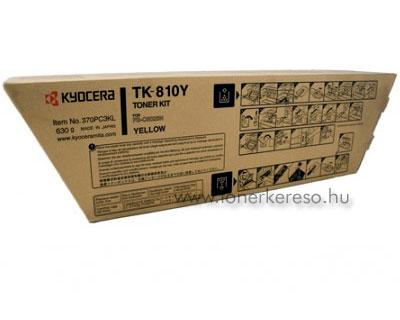 Kyocera TK 810 Y Kyocera FS-C8026 lézernyomtatóhoz