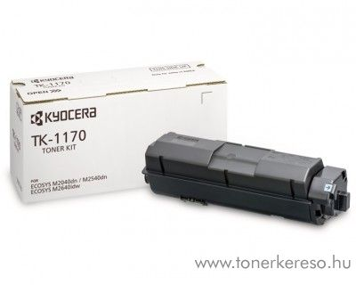 Kyocera ECOSYS M2040dn (TK1170) eredeti black toner 1T02S50NL0 Kyocera ECOSYS M2640idw lézernyomtatóhoz