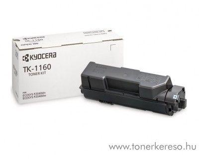 Kyocera ECOSYS P2040dn (TK-1160) eredeti black toner 1T02RY0NL0 Kyocera ECOSYS P2040dw lézernyomtatóhoz