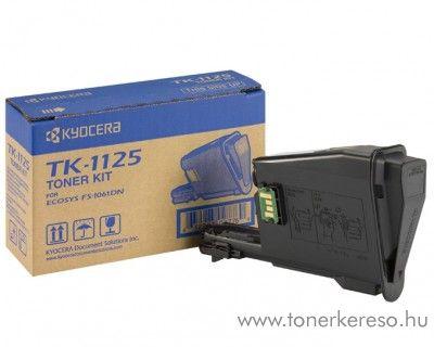 Kyocera FS1061 (TK-1125) eredeti black toner 1T02M70NL0 Kyocera FS1061DN lézernyomtatóhoz